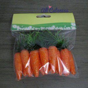 🎀 Decorative Carrots